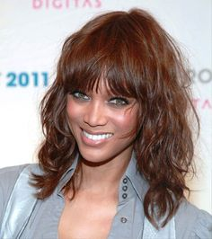 Medium Haircuts for Diamond Face Tyra Banks | 8 Medium Haircuts That Will Inspire You To Chop Off Your Long Locks