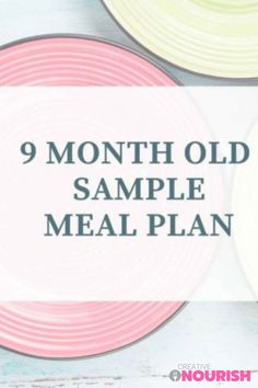 The complete 9 month old meal plan. #mealplan #babymealplan #9montholds #startingsolids #babyfoodideas Homemade Baby Puree Recipes, Pureed Food Recipes, Old Recipes, Baby Food Recipes, Baby Meal Plan, Strawberry Snacks, Baby Led Weaning Breakfast, Baby First Foods, 8 Month Olds