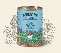 Fishy Fish Pie with Peas, can, 400gr