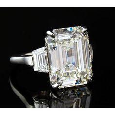 emerald cut vintage art deco engagement rings - Google Search