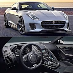 """Jaguar F-Type 400 Sport 2018 Série limitada exclusiva o 400 Sport será produzido apenas por um ano já como linha 2018. É equipado com motor 3.0 V6 com 400 cavalos com Modo Dinâmico Configurável de série. O conjunto tem aceleração de 0 a 100 km/h em 49 segundos com máxima de 275 km/h.  Vendido apenas nas cores metálicas branco Yulong prata Indus e preto Santorini vem com detalhes de acabamento Dark Satin Grey. As rodas de liga leve de 20"""" em Dark Satin Grey completam o visual. O interior…"""