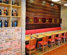 Cafeterías y restaurantes - Scanform Y Food, Stuffed Mushrooms, Stuffed Peppers, Food Court, Liquor Cabinet, Living Spaces, Storage, Table, Furniture
