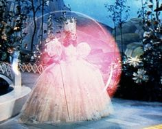 Glenda the Good Witch of the North in, The Wizard of Oz