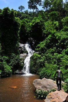 Waterfall of Kpalimé, Togo