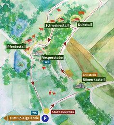 Erlebnis Bauernhof Schmid | Schullandheim • Tiergehege • Vesperstube Map, Youth Groups, Day Trips, Playground, Road Trip Destinations, Location Map, Maps