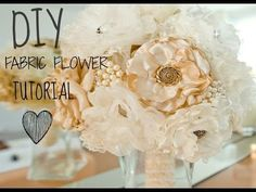 Fabric Flowers, Ribbon Roses & Net Orange Blossoms - DIY | HubPages