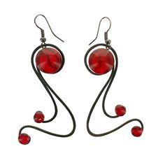 THR Barcelona Dancing Swirl Earrings