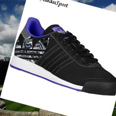 adidas originals samoa black/ black/blast purple