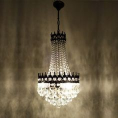 Elegant Gothic Light Delux Antik Alte Kronleuchter Luster