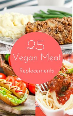 I'm so excited to share these 25 fantastic recipes with you on how to replace meat in your home cooked meals. I hear so many people say they want to go vegan but have the hardest time letting go of MEAT. Most people don't realize all of the creative and delicious ways you can make the swap. So, I decided to share some of my most favorite ones here.