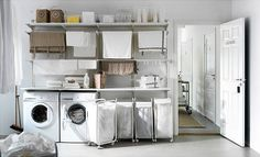 IKEA ALGOT Laundry Room | by Heath & the B.L.T. boys