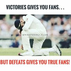 Will keep supporting you till Death Virat! ❤ . Cheer up Boy! You are our Inspiration! ❤️