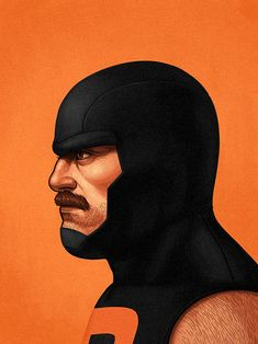Puck - Alpha Flight by Mike Mitchell Retro Portraits of Marvel's Best