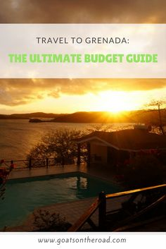 Travel to Grenada: The Ultimate Budget Guide - Goats On The Road Grenada Caribbean, Caribbean Vacations, Travel Advice, Travel Guides, Travel Tips, Travel Stuff, Budget Travel, Travel Plan, Travel Info
