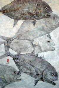 Gyotaku Fish Printing In Hawaii: Gyotaku Fish Prints Are A Popular Art Form In Hawaii