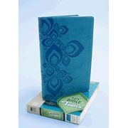 NIV Thinline Bible for Teens--bonded leather, Caribbean blue/Caribbean blue