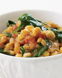 Chickpea and Spinach Stew // Warming Soups: http://www.foodandwine.com/slideshows/warming-soups #foodandwine