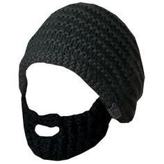 08f008e34 Beard Hat - Dark Grey   Black Beard