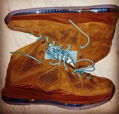 "Nike LeBron X ""Suede"""