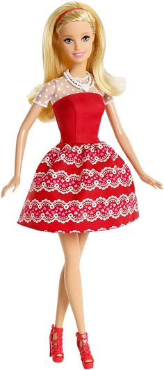 Amazon.com: Barbie Valentines Day Doll: Toys & Games
