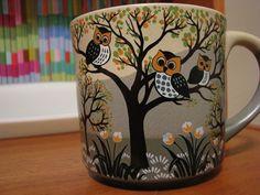 owl mug ♥ by Dulamae