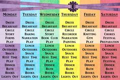waldorf first grade schedule + lots of resources
