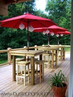 Outdoor Patio Furniture High Top - Home Interior Design Ideas Outside Living, Outdoor Living, Deck Party, Outdoor Spaces, Outdoor Decor, Outdoor Pub Table, Rustic Outdoor, Outdoor Ideas, Pub Set