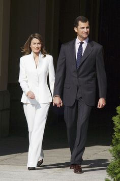 A Royal Success: Queen Letizia of Spain's Style - Letizia Ortiz Engagement Ceremony