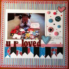 Valentines Day layout