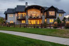Lake House Plans, Mountain House Plans, Mountain Homes, Best House Plans, Dream House Plans, Dream Houses, Lake Houses, Story Mountain, Mountain Home Exterior
