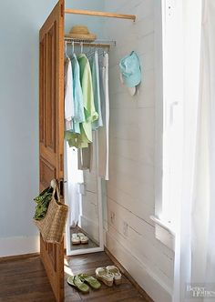 Awesome idea for a little changing place