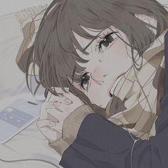 Dark Anime Girl, Anime Art Girl, Aesthetic Themes, Aesthetic Anime, Character Design Girl, Anime Scenery Wallpaper, Cute Profile Pictures, Anime Eyes, Cute Icons