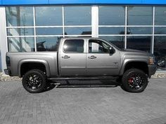 2013 Chevy Silverado Black Widow Lifted Truck by Southern Comfort http://www.onlyliftedtrucks.com