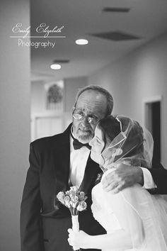 Precious Father & Daughter Wedding Moment