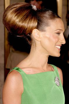 The Terrier and Lobster: Sarah Jessica Parker Emerald Green Tiered Fall 2004 Oscar de la Renta Dress from the New York City Ballet Spring Gala