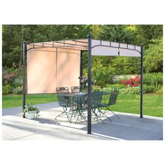 CASTLECREEK® Pergola with Adjustable Shade $219