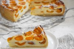 Apricot Cake with Quark Filling