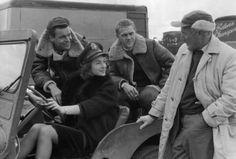 Steve McQueen in a WWII B3 Flying Jacket.
