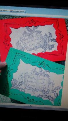 Vánoční přání 2012 C.V.