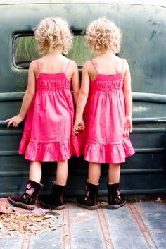 Is it bad to have an ideal situation when it comes to kids? Here is mine :) Twin girls!