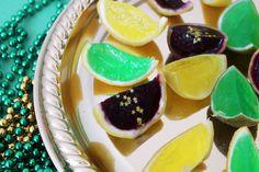 Celebrate Fat Tuesday with Mardi Gras Jello Shots