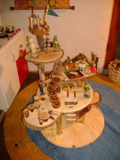 Toy Tree House! Emmett will be getting one of these for a birthday or Christmas for sure!