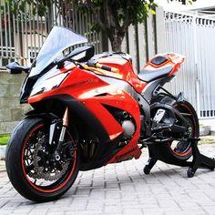Orange NINJA ZX10R
