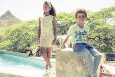 Girl // Dress: Perijntje. Boy // Jeans: Albertino I Top: Hiker