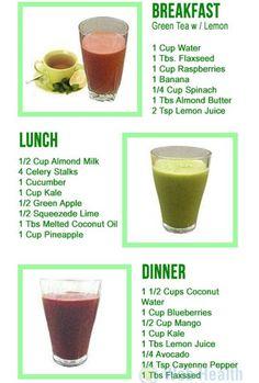 One Day; Three Smoothie Detox! #Food #Drink #Trusper #Tip
