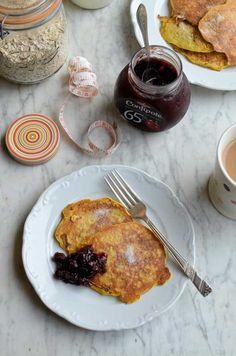 Gluten-Free Skinny Porridge Pancakes by Karen Burns-Booth