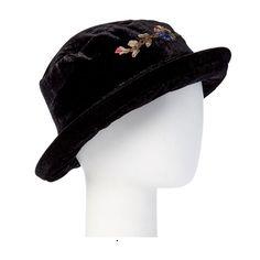 e2180cb8321a82 Mechaly Women s Black Vegan Hat Bucket Hat