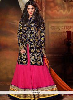 Rousing Chitragandha Signh Pink Lehenga Choli