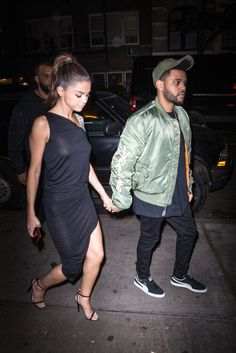 Selena Gomez | Arriving at Carbone with The Weeknd in New York (2017)