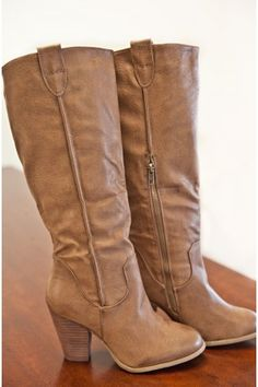 Fall Rush Boots-Nude